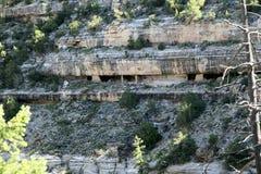 Casa del acantilado Imagen de archivo libre de regalías