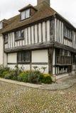 Casa del adoquín y del zarzo en Rye Imágenes de archivo libres de regalías