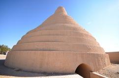 Casa del almacenaje del hielo en Abarkuh Foto de archivo libre de regalías
