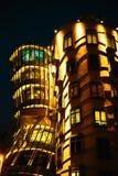 Casa del baile en la República Checa de Praga Fotos de archivo libres de regalías