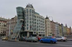 Casa del baile en Praga foto de archivo libre de regalías