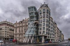 Casa del baile, Praga imagenes de archivo
