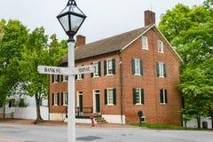 Casa del banco del miedo del cabo en Salem vieja Imagen de archivo