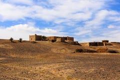 Casa del Berber en el desierto Imagen de archivo libre de regalías