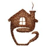 Casa del café Imagenes de archivo