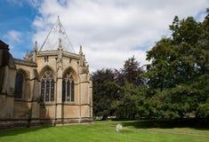 Casa del capítulo de la iglesia de monasterio de Southwell Fotos de archivo libres de regalías