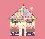 Casa del caramelo Fotografía de archivo libre de regalías