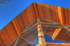 Casa del cedro Immagini Stock Libere da Diritti