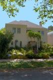 Casa del classico dello stucco del Berkeley Fotografia Stock