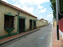 Casa del Colonial de la casa Foto de archivo libre de regalías