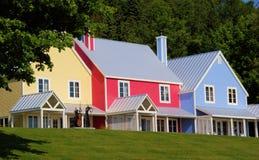 Casa del color Imagenes de archivo