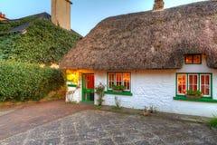 Casa del cottage di Adare Immagine Stock