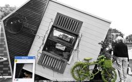 Casa del Cubby Foto de archivo