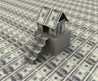 Casa del dólar Imagen de archivo