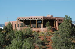 Casa del deserto Immagini Stock