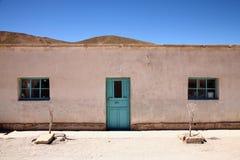 Casa del deserto Fotografia Stock