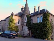 Casa del escocés de Turretted imágenes de archivo libres de regalías