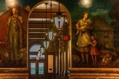 Casa del estado del capitolio del Topeka Kansas foto de archivo