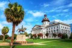 Casa del estado de Carolina del Sur Imagen de archivo libre de regalías