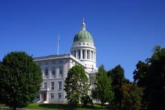 Casa del estado de Maine, Augusta fotos de archivo libres de regalías
