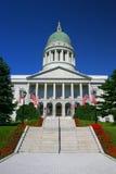 Casa del estado de Maine, Augusta Foto de archivo libre de regalías