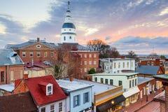 Casa del estado de Maryland foto de archivo libre de regalías