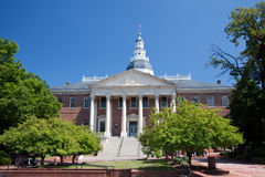 Casa del estado de Maryland, Annapolis Foto de archivo