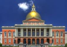 Casa del estado de Massachusetts Foto de archivo libre de regalías
