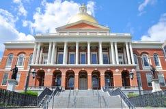 Casa del estado de Massachusetts, Boston imagenes de archivo
