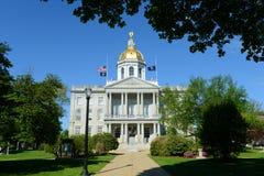 Casa del estado de New Hampshire, concordia, NH, los E.E.U.U. Foto de archivo libre de regalías