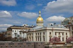 Casa del estado de New Jersey Imagen de archivo