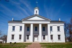 Casa del estado de Vandalia Foto de archivo libre de regalías