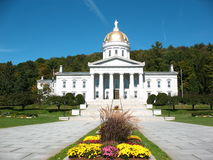 Casa del estado de Vermont Fotos de archivo libres de regalías