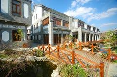 Casa del estilo chino Foto de archivo