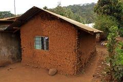 Casa del fango en África Fotografía de archivo