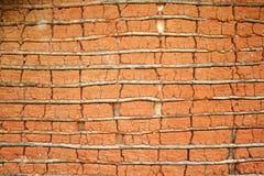 Casa del fango (textura) Fotografía de archivo libre de regalías