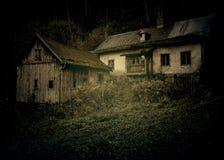 Casa del fantasma Fotografie Stock Libere da Diritti