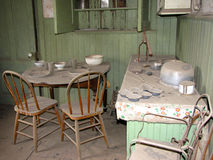 Casa del fantasma de Bodie Fotografía de archivo libre de regalías