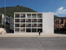 Casa del Fascio在科莫 库存照片