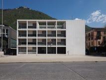 Casa del Fascio在科莫 免版税图库摄影