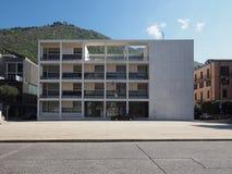 Casa del Fascio在科莫 库存图片