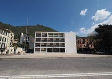 Casa del Fascio在科莫 免版税库存照片