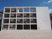 Casa del Fascio in Como Fotografie Stock Libere da Diritti