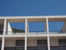 Casa del Fascio in Como Fotografia Stock Libera da Diritti