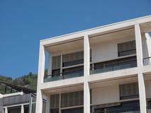 Casa del Fascio en Como Foto de archivo libre de regalías