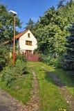 Casa del fin de semana del ladrillo Foto de archivo