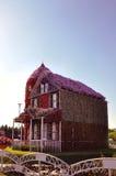 Casa del fiore Fotografia Stock