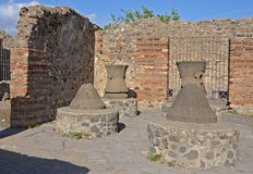 Casa del Forno i Pompeii, Italien Royaltyfri Fotografi