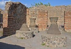 Casa Del Forno w Pompeii, Włochy Fotografia Royalty Free
