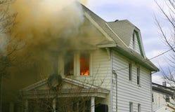 Casa del fuego fotos de archivo libres de regalías